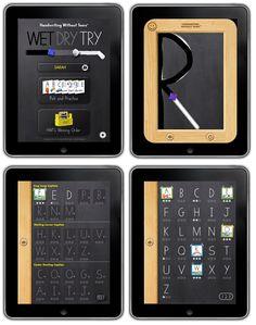iPad App | Handwriting Without Tears...finally!!! nice
