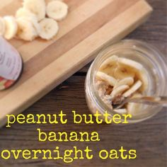 It's the Elvis of overnight oats recipes! Peanut butter and banana is basically the perfect breakfast, wouldn't you say?