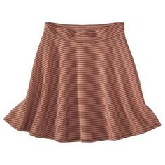 Xhilaration® Juniors A-Line Skirt -  Assorted Colors // The adorable skirt I wore to my interview today
