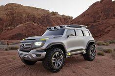 Overlandia: Mercedes Electric Concept SUV est ~530k