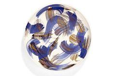 Porcelain Plates Serving Plate wedding gift Gold Plate