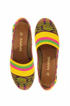 Kaanas 'Tulum Banana' Shoes | Orchid Boutique $79