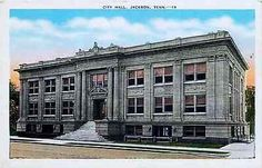 Jackson Tennessee TN 1940s City Hall Collectible Antique Vintage Postcard Jackson Tennessee TN 1940s City Hall. Unused E. C. Kropp antique vintage postcard in very good condition with average wear. 20