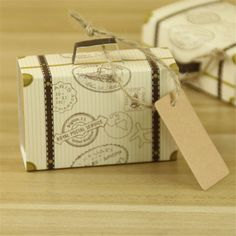 Wedding Favors Quality Chocolate Box Directly From China And Gifts Suppliers Mini Suitcase Bonbonniere