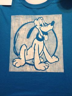 DIY disney shirts: pluto - CoolTechnique  #DisneySide