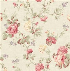 Sarah's Collection from Red Rooster md tossed rose floral Paisley Fabric, Floral Fabric, Red Rooster, Quilt Kits, Rose Design, Fabric Wallpaper, Cotton Quilts, Pattern Books, Beautiful Patterns