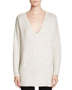 ccbb7cb2635ce FRENCH CONNECTION Flossy V Neck Heathered Sweater Women - Sweaters -  Bloomingdale s