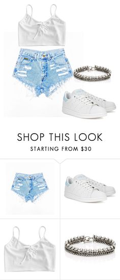 """Untitled #52"" by evelinefeitosaneres on Polyvore featuring adidas Originals and Alexander Wang"