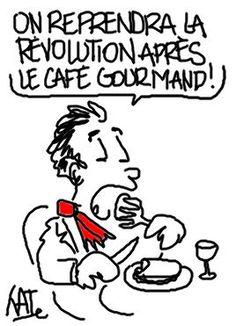 Révolutionnaire et gourmand http://undessinparjour.wordpress.com/2013/12/01/revolutionnaire-et-gourmand/