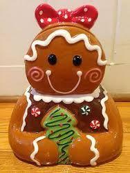gingerbread cookie jars - Google Search