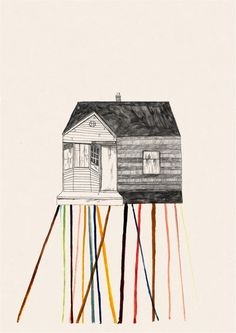 """Image Spark - Image tagged """"casa"""", """"housing crisis"""", """"handdrawn"""" - pixelkid"""