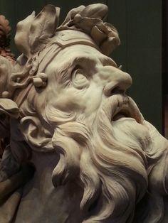 """Chrysès"", Michel-Ange Slodtz, Musée du Louvre in Paris Michelangelo, Dr Tattoo, Carpeaux, Greek Statues, Greek Art, Photo Reference, Art History, Sculpting, Anatomy"