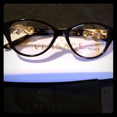 authentic versace frames versace mod 3161 gb1 blackgold new women authentic eyeglasses