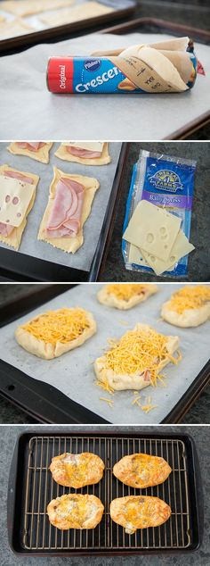 These Ham & Cheese Crescent Puffs are the perfect family-friendly brunch recipe. Wether you're looking for a delicious breakfast snack or something special for a holiday party, this simple recipe is perfect. #ad *This sounds amazing. Love the mustard glaze recipe too. Bookmarking this for Easter.