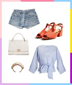 5 Easy Ways to Make Denim Shorts Look Sophisticated via Brit + Co
