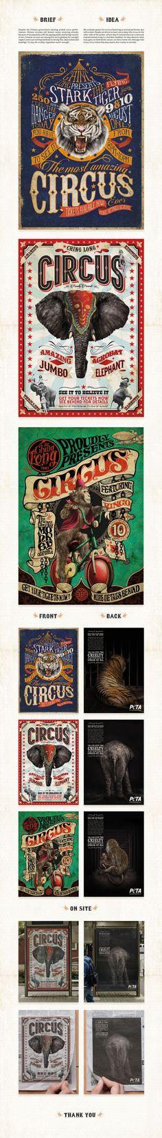 Peta Circus on Behance: