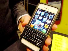 BlackBerrify your iPhone with Spike keyboard case | CES 2013: Gadgets - CNET Blogs - best of both worlds