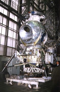 Soviet Lunar Lander.