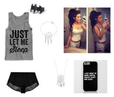 """""""Pajamas"""" by epic-callie ❤ liked on Polyvore featuring Only Hearts"""