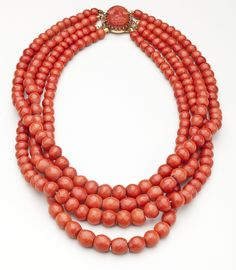coral gold necklesses | coral_necklace_french