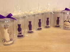 Quany 7 Bridal Party Gift Personalized Acrylic Por Deladesign 77 00 We Should