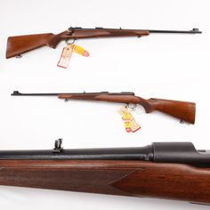 """Winchester Model 70 Rifle - It's been called the """"Rifleman's Rifle"""" and our GOTD has a few miles behind it, despite being basically still in new condition. This Featherweight .308 example, still bearing its original factory """"hang tags"""" is featured at the NRA National Sporting Arms Museum at Bass Pro Shops in Springfield, MO."""