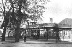 Amagerbanens startsted, 1920. Turen tog 29 min.