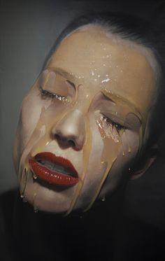 Estas pinturas hiperrealistas são tão detalhadas que dá até para sentir o gosto do mel