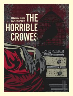 the horrible crowes concert poster