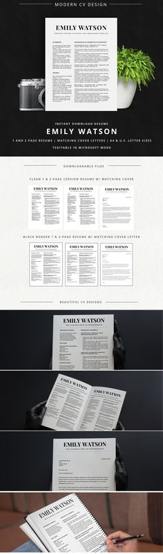 ☆ INSTANT DOWNLOAD RESUME TEMPLATE - WORD FORMAT ☆ Need a resume - i need a resume template