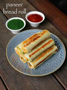paneer bread roll recipe, bread paneer rolls, paneer stuffed bread rolls with step by step photo/video. ideal party starters or finger food snack appetiser Bread Recipes, Snack Recipes, Cooking Recipes, Easy Recipes, Diet Recipes, Club Sandwich Recipes, Cheese Recipes, Indian Snacks, Indian Food Recipes