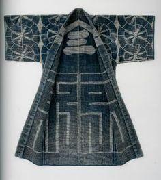 HANTEN & HAPPI COATS Japanese Edo Sashiko Tsutsugaki: