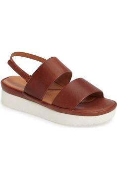 Main Image - L'Amour des Pieds Abruzzo Slingback Platform Wedge Sandal (Women)