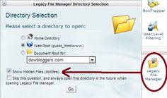 Show Hidden Files on HostGator   Hosting Server