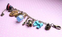 Alice im Wunderland Armband von Natajka Schmuck-Süßigkeiten :) auf DaWanda.com