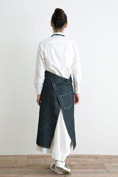 DENIM APRON (Long) | Simply online shop(シンプリー公式通販)