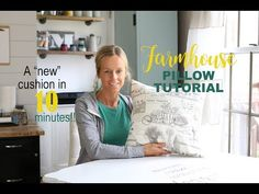 I'm Mary. As a young girl, I would think of things to make and instantly HAVE to take action. Pumpkin Pillows, Fall Pillows, Diy Pillows, Throw Pillows, White Cottage, Cottage Farmhouse, Farmhouse Style, Diy Pillow Covers, Pillow Tutorial