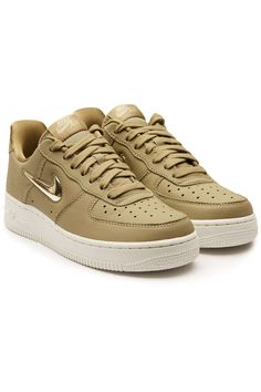 Nike - Air Force 1  07 PRM LX Leather Sneakers on STYLEBOP.com 5a23177e9