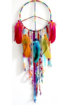 Awesome peace dream catcher!