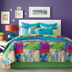 J by J. Queen New York Yoko Comforter Set in Apple - BedBathandBeyond.com
