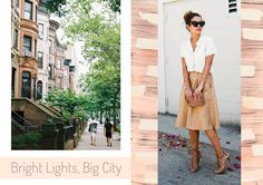 Eleven Oh Seven: Summer Getaway Style File. Bright Lights, Big City. NYC