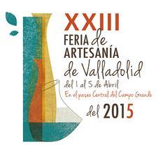 Cartel de la Feria de Artesanía de Valladolid