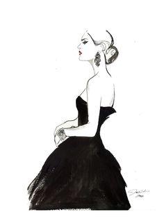 fashion illustration vintage - Pesquisa Google
