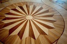 parquet wood flooring..