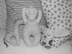 Mimís... ♥ babypuppe, baby doll, sewn toys