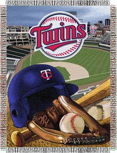 MLB Minnesota Twins Tapestry Throw Minnesota Twins b39c5c64078a
