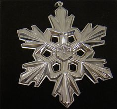 rose anniversary anniversaries snowflake porcelain bmcfia