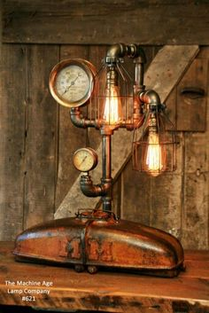 Machine Age Lamp Company #621