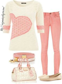 Pink outfit. I think I have something like this