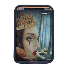 Queen of Broken Hearts iPad Mini Sleeve available at Zazzle
